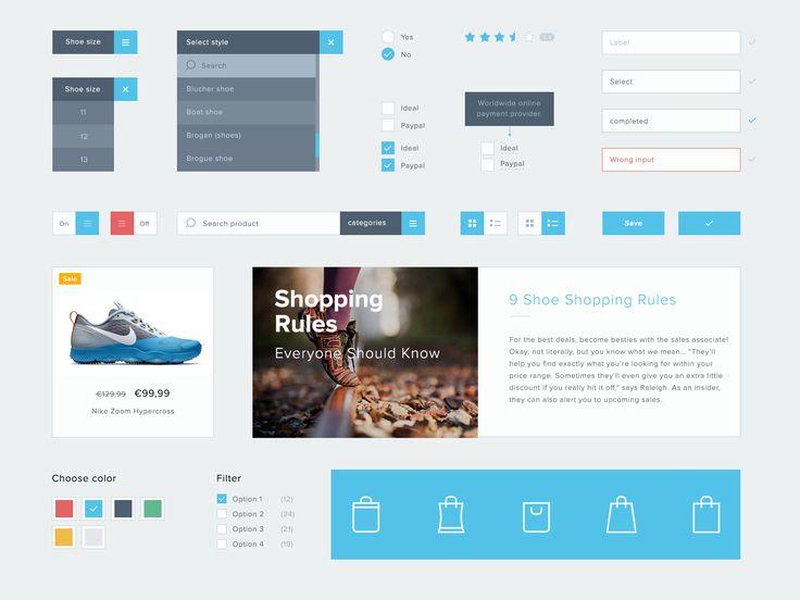 Dashboard UI kit by Stefan Kuhl on @creativemarket