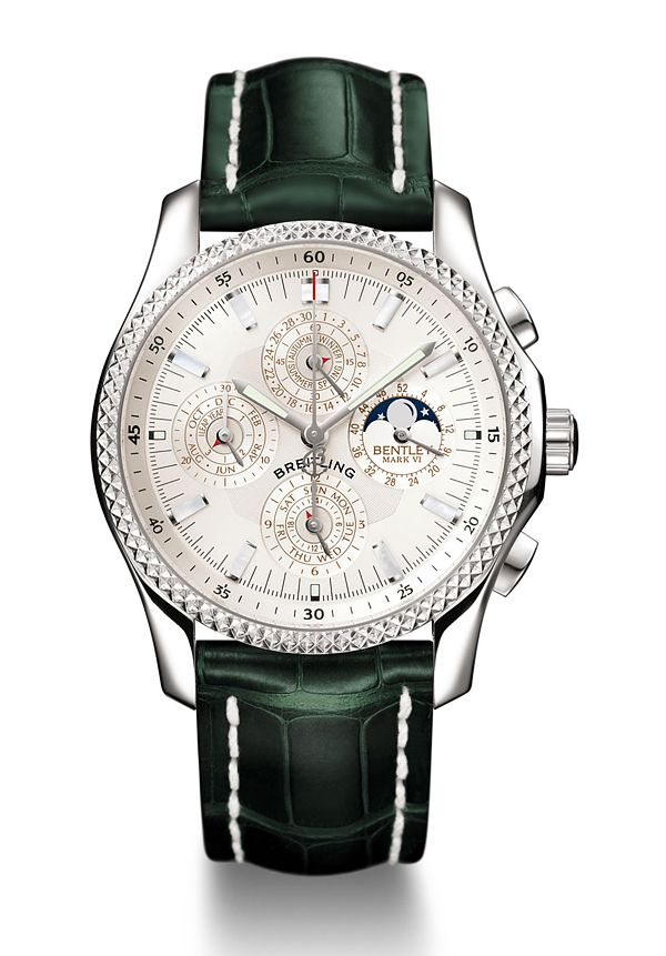 Not too hard watching the clock tick from your wrist in such luxury>