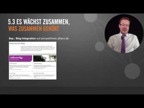 Dominik Hahn, seines Zeichens Expert Global Online Employer Branding, über Employer Branding im Social Web. Der Ausschnitt ist Teil der Vorlesung Employer Branding im Internet unseres Online Seminars E-Recruiting für HR-Profis.