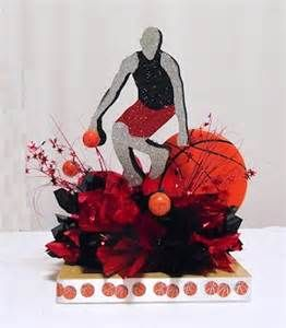 Basketball Free Throw Centerpiece Kits For Sports Theme Parties, Bar  Mitzvah, Banquets And Special Event Table Decorations.