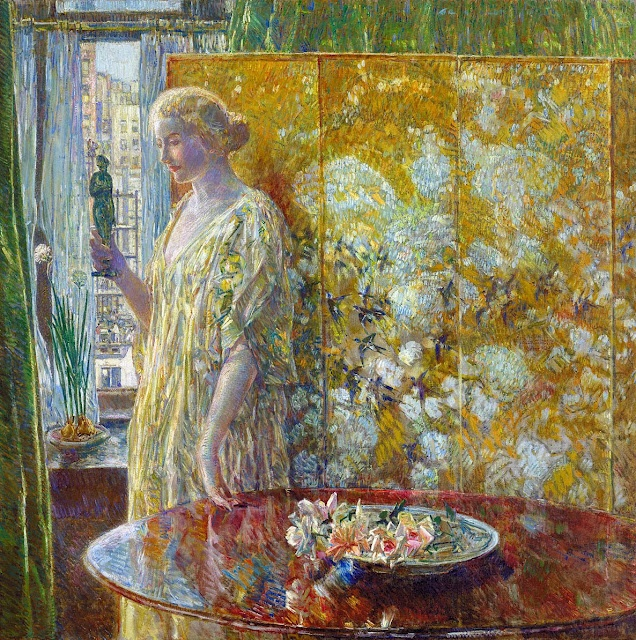 Tanagra (The Builders, New York), 1918 By Childe Hassam (American,