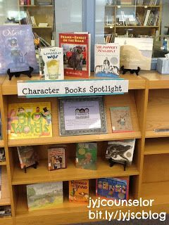 jyjoyner counselor: Spotlight Character Ed Books at Your School