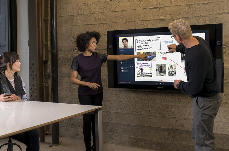 Surface Hub, Microsoft's $9,000 wall-mounted touchscreen, is delayed yet again