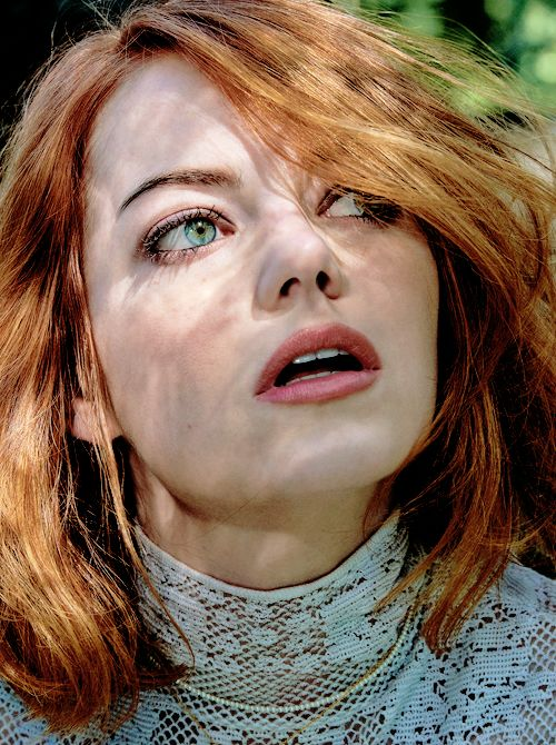 Emma Stone photographed by Craig McDean for Interview Magazine (May 2015)
