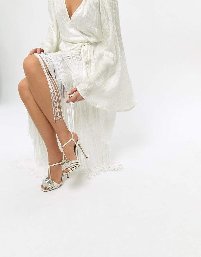 e6c68698b16c4 ASOS HONEY BLOOM Bridal Embellished Heeled Sandals  ad  weddingshoes   weddingideas  weddinginspiration