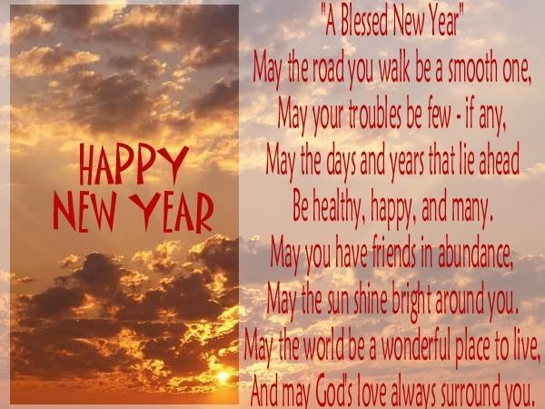 New Year Blessings For Susie