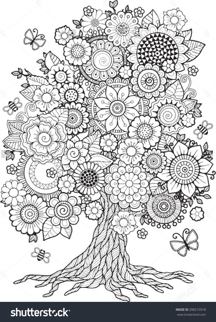 544 best coloring pages images on pinterest mandalas