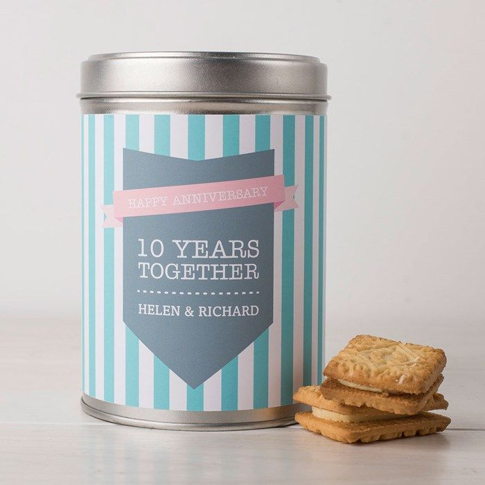 Personalised Hot Chocolate - Ten Years Together| GettingPersonal.co.uk