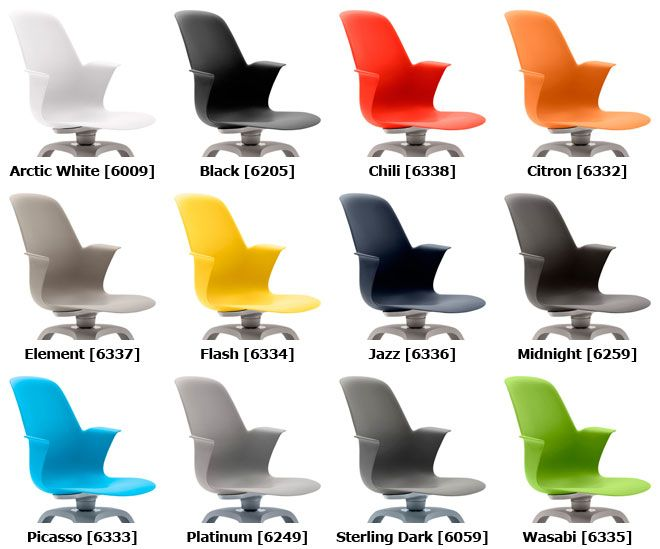 Steelcase Node Chair Shell Colors