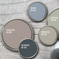 Check out 5 Shades of Gray! Gray is one of the most colorful and flexible neutrals... meaning it can work just about anywhere in your home.