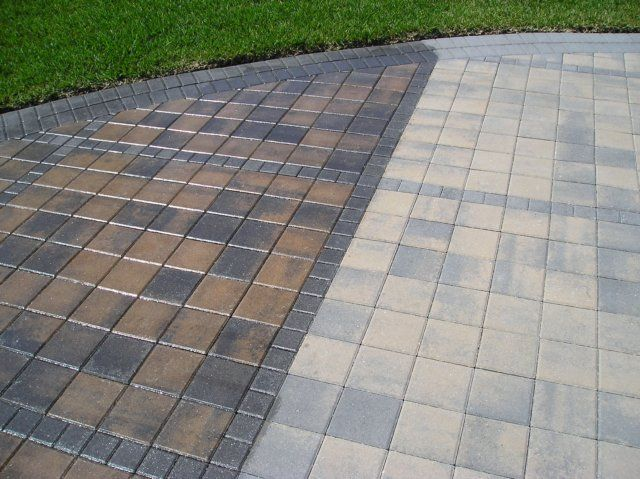 Patio sealing