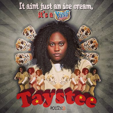 """""""it ain't just an ice cream, is's a King Cone."""" -Taystee. #orange_is_the_new_black #oitnb #taystee"""