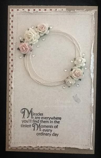 Miracles by Melissa Goodman - Cards and Paper Crafts at Splitcoaststampers