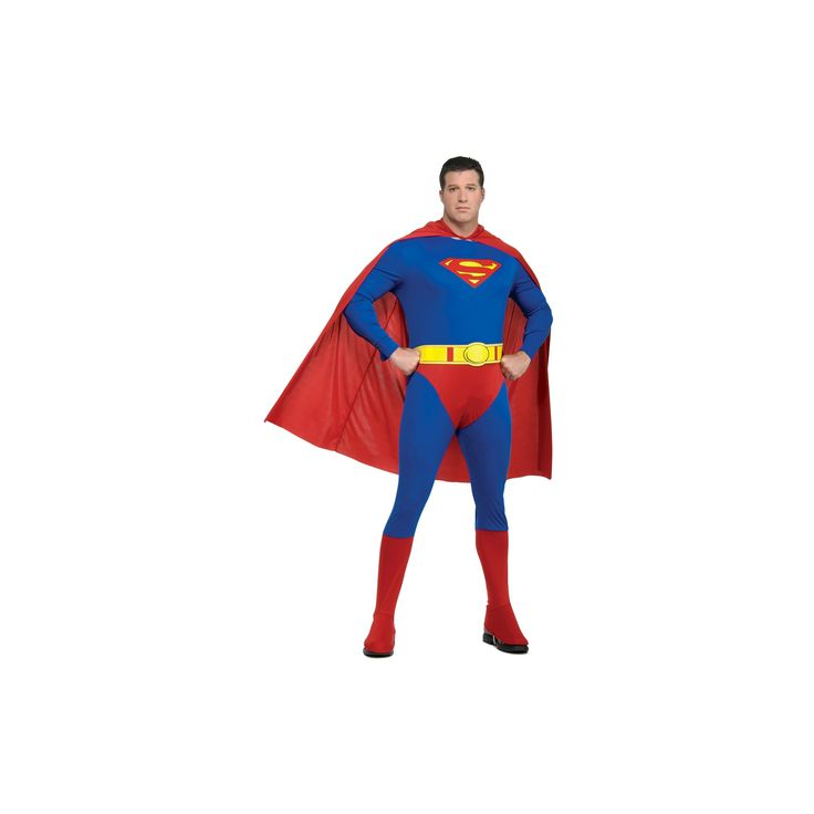 Halloween Men's DC Comics Superman Costume XL(42-46), Size: XL (42-46), Multi-Colored