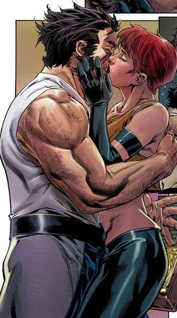 Jean Grey & Wolverine - Age of Apocalypse