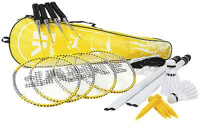 #Victor badminton set - 4 #player - beach - #garden,  View more on the LINK: 	http://www.zeppy.io/product/gb/2/291499970021/