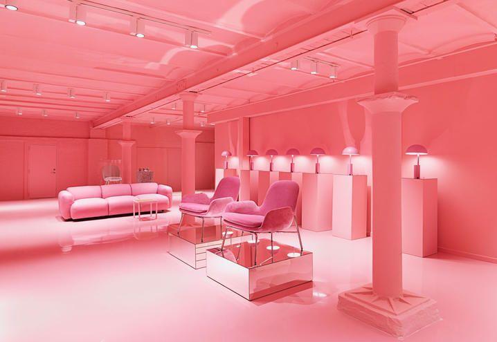 normann-copenhagen-scandinavian-style-new-showroom-pink-room