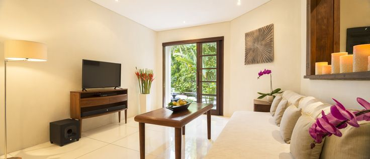 Villa 999 media room at Villa Kubu, Seminyak, Bali