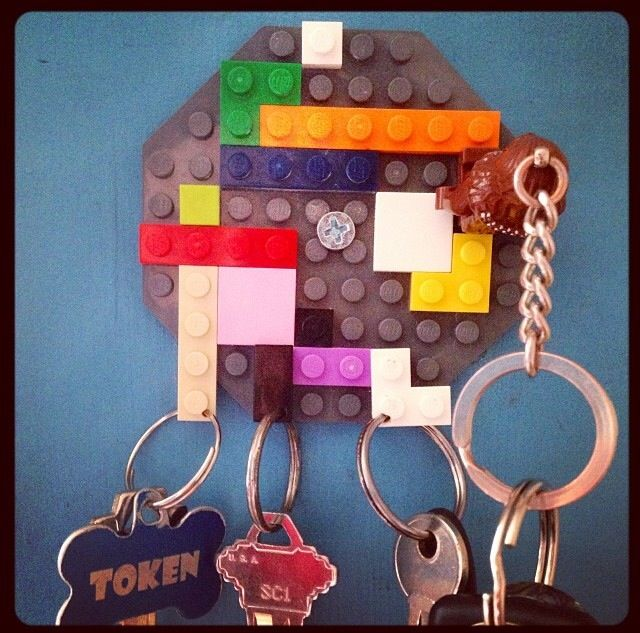 Best 25+ Lego key holders ideas on Pinterest | Lego ...