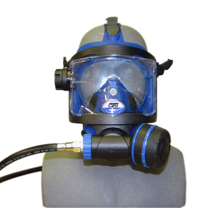 OTS GUARDIAN FULL FACE MASK with blue skirt - Pro-Diving Services