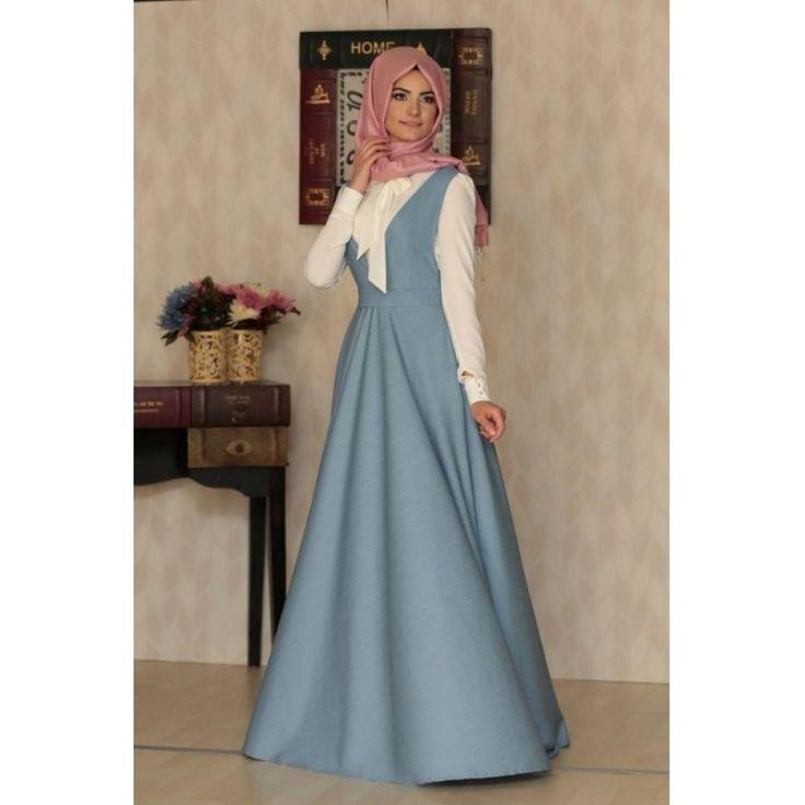 Kolsuz Elbise - Kot - Al Marah, TESETTUR ELBISE, Kolsuz Elbise - Kot - Al Marah, , 180.00