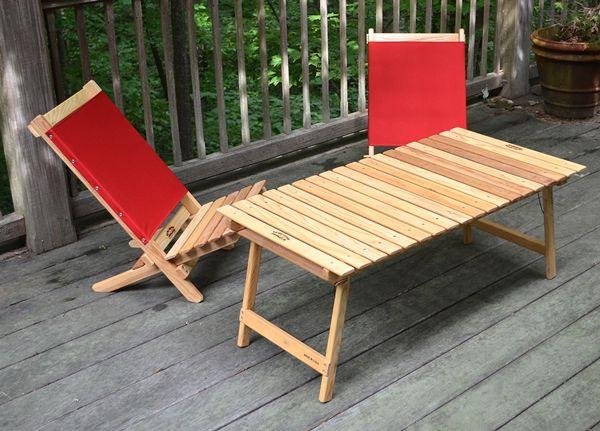 最新情報 » ノース・カロライナの木製アウトドア家具メーカーのBlue Ridge Chair Worksから新商品がリリースされています。 | 株式会社エイアンドエフ - 世界中の優れたアウトドア用品を30年以上輸入販売