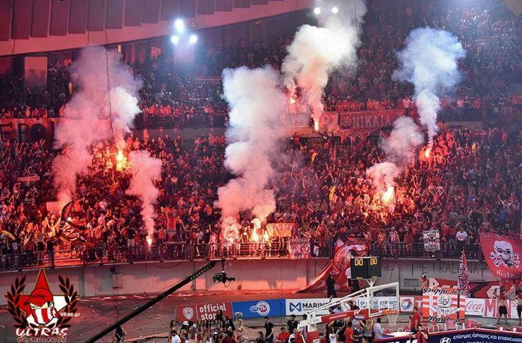 Olympiakos vs Panathinaikos 27.05.2016 (Basketball League Finals)