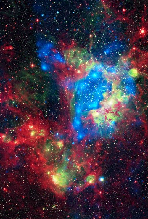 NGC 1929 SPACE-this is stunning! The universe has some amazing sights to offer!