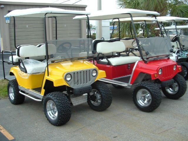 Florida Golf Cars, Carts, EZ-GO, Club Car, Bad Boy Buggy, Schwinn Scooters