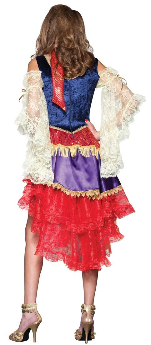 Super Deluxe Good Fortune Gypsy Adult Costume | Costume Craze