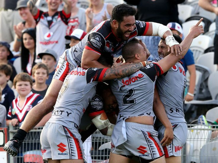 Warriors' fullback Roger Tuivasa-Sheck returned to break the Sydney Roosters' hearts with a match-winning golden point try sealing a thrilling 32-28 win at Gosford today. - New Zealand Herald