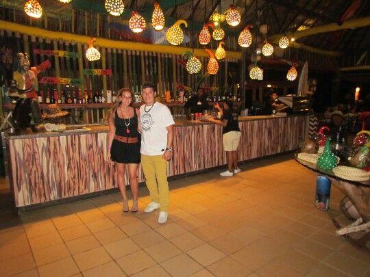 Restaurante the Islander, San Andrés, Colombia.