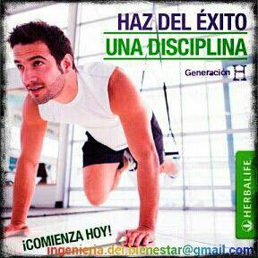La disciplina es el puente entre las metas y el éxito. La falta de discipllina erosiona nuestra autoestima. Continuemos nuestro Plan de 90 días con disciplina.  Llámanos a +57 3005068000 ó escribe a ingenieria.del.bienestar@gmail.com y tendremos el agrado de presentarte un plan comprobado para lograr el éxito mientras llenas tu vida y la de tu familia de Bienestar.   #nivel10 #salud #fitness #ejercicio #entrenamiento #herbalife #bienestar #desayunosano #estilodevida #nutricion #fit…