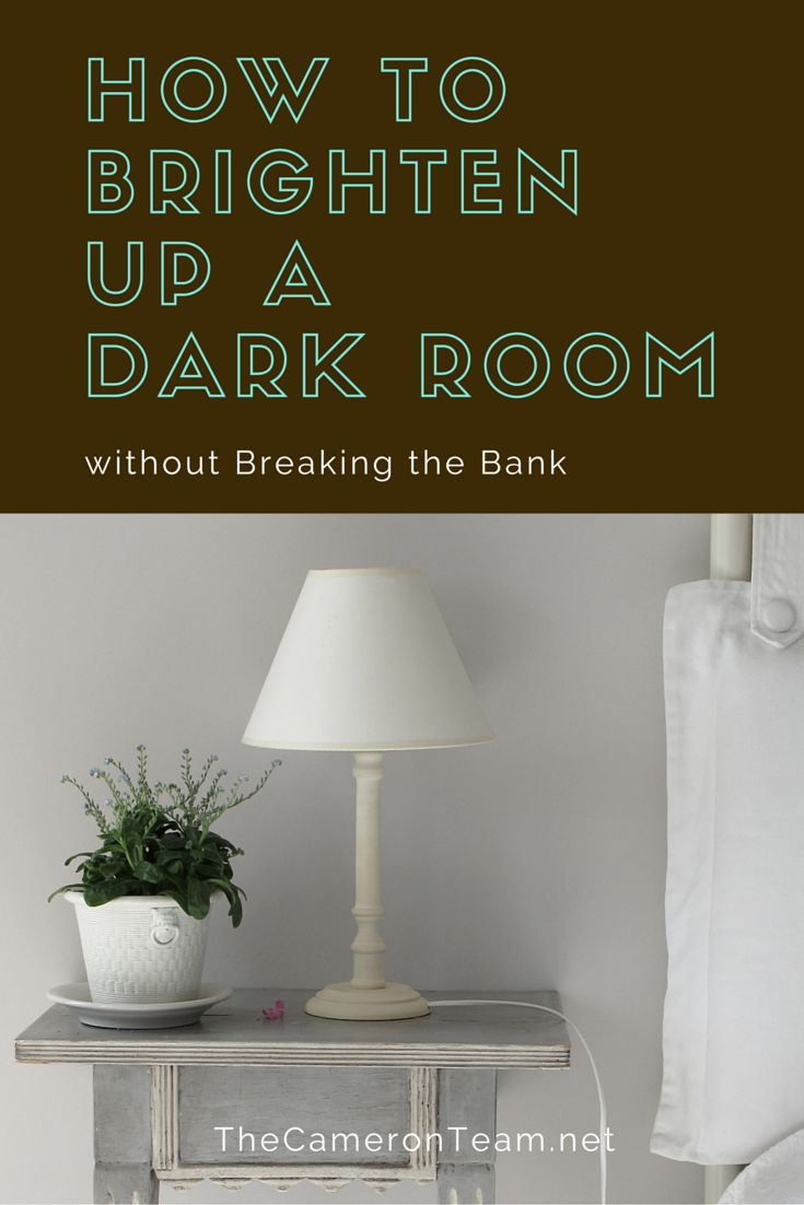 What Wall Color Brightens Up A Dark Room
