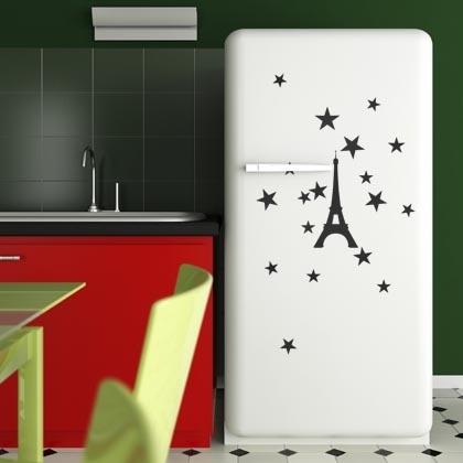 Stickers Tour Eiffel et étoiles    http://www.idzif.com/idzif-deco/nos-createurs/paristic/produit-stickers-tour-eiffel-et-etoiles-6385.html