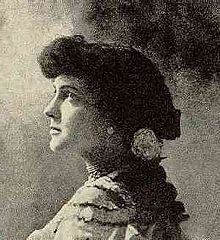Delmira Agustini (1886- 1914) Uruguayan poet.  A disciple of Rubén Dario.  Delmira was highly admired by her contemporaries because of her talents and her ability to create writing that was very sensual and provocative. Her  style was considered vanguard.