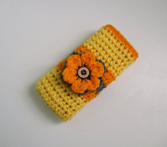 Crochet Mobile Case Phone Case Mobile Cover by ZsuzsaBoutique