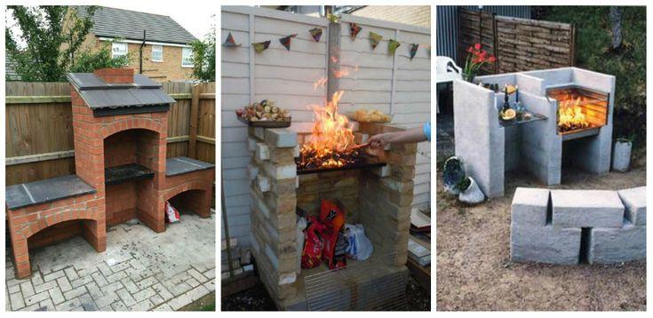 Idei DIY pentru un gratar practic in curtea casei tale