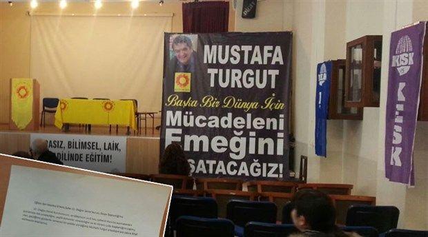 19 Mart Pazar günü gerçekleştirilen Eğitim Sen İstanbul 8 No'lu şube 10. Olağan Genel Kurulu, geçtiğimiz günlerde hayatını kaybeden Devrimci öğretmen Mustafa Turgut'a ithaf edildi.