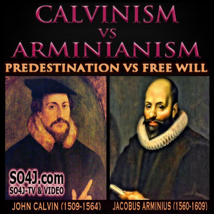 Calvinism vs Arminianism Comparison Chart - Doctrine of Election - Chosen - Predestination - SO4J-TV - SO4J.com