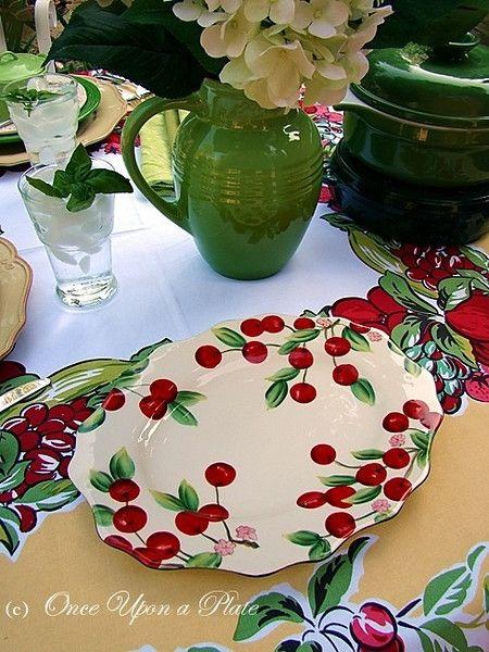 Cute cherry platter!