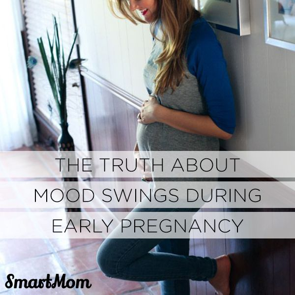 The Truth About Mood Swings During Early Pregnancy // SmartMom