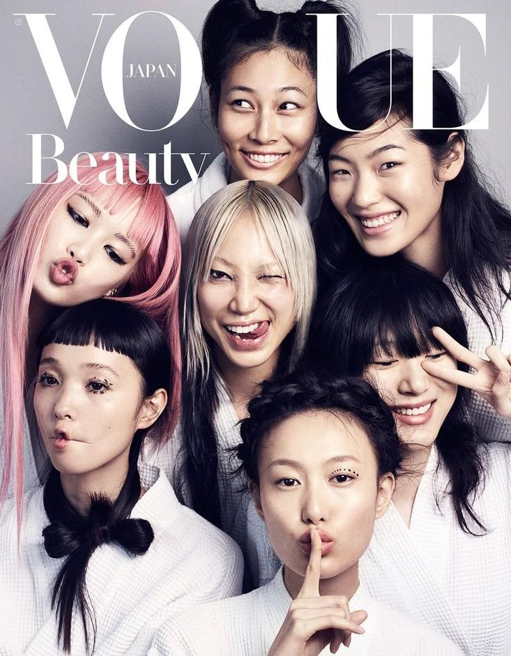 Soo Joo by Marcus Ohlsson for Vogue Japan September 2016 #beauty #makeup