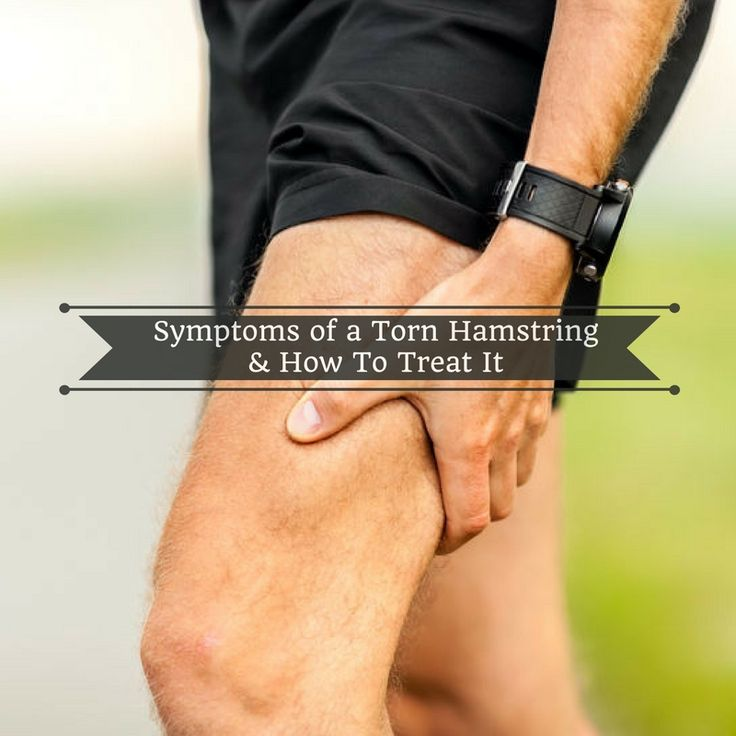 Whether you're a runner, or you are active in other sports, this is a must read. Learn how to identify the symptoms of a torn hamstring & how to treat it.