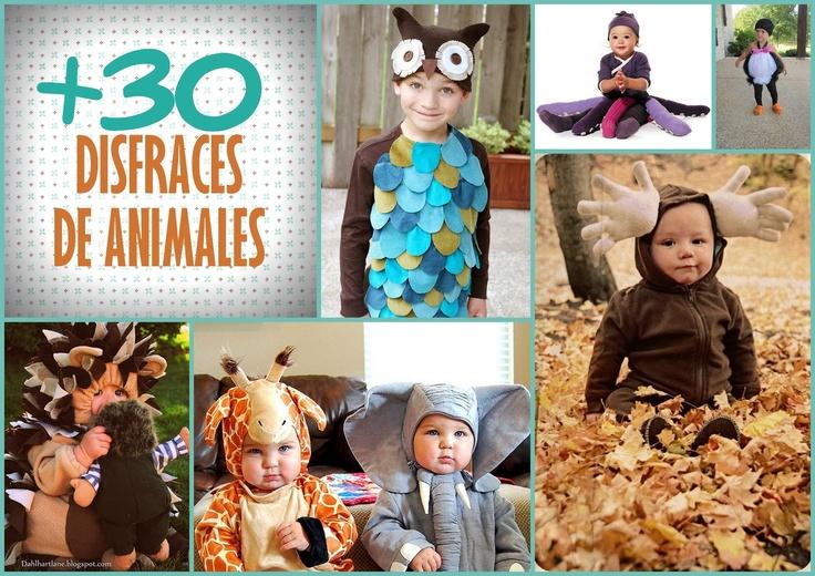 LLUVIA DE IDEAS: Disfraces de animales para Carnaval