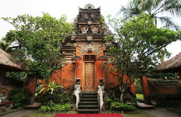 Puri Agung Ubud (Ubud palace) - Kingdom of Ubud/Sukawati, Bali