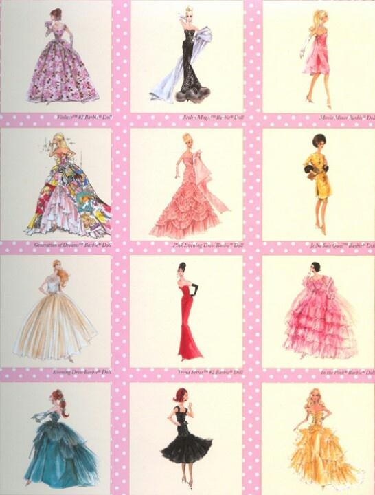 Barbie art print