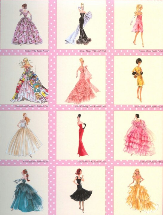 Barbie art print