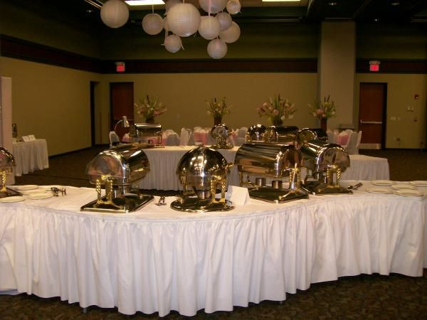 Image result for how to set up a buffet table