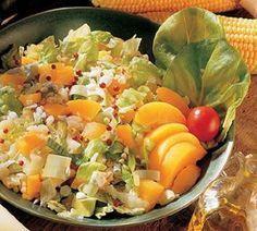 Aurinkoinen pastasalaatti